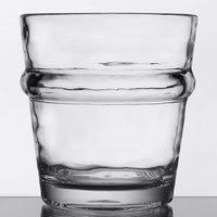 Libbey 92428 Infinium Wake 7 oz. Stackable Tritan Plastic Rocks Glass - 12/Case