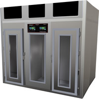 Stagionello 100 inch Glass Door Stainless Steel Meat Curing Cabinet - 17,600 lb. / 800 kg., 380V, 8600W