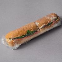 LK Packaging 18 inch x 18 inch BOPP Clear Deli Sandwich Wrap - 1000/Case