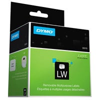 DYMO 30370 LabelWriter 2 inch x 2 5/16 inch White Multipurpose Self-Adhesive Label Roll - 250/Roll
