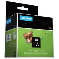 DYMO 30323 LabelWriter 2 1/8 inch x 4 inch White Address Permanent Self-Adhesive Label Roll   - 220/Box