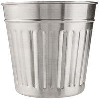 American Metalcraft OSCAR3 Stainless Steel Utensil Holder - 6 inch x 5 7/8 inch