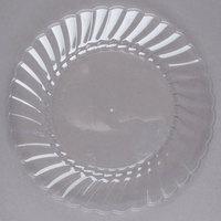 WNA Comet CW75180 Classicware 7 1/2 inch Clear Plastic Plate - 180/Case
