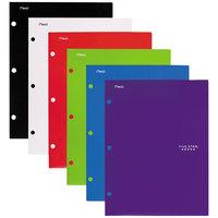 Five Star 38058 Traditional Design Letter Size Assorted Color 4 Pocket Portfolio Folder - 4/Pack