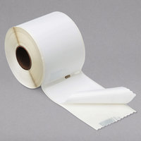 DYMO 30573 LabelWriter 2 1/8 inch x 4 inch White Shipping Permanent Self-Adhesive Label Roll - 220/Pack