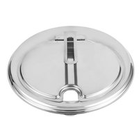 Vollrath 47493 Slotted / Hinged Contemporary Inset Cover - 9 15/16 inch Diameter