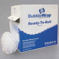 Sealed Air 90065 Bubble Wrap 1/2 inch Thick Ready-To-Roll Cushioning Material - 12 inch x 65'