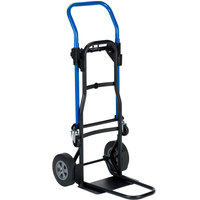 Harper JDCJ8523EN 3-in-1 500 lb. Quick Change Hand Truck with Nose Extension and 8 inch Solid Rubber Wheels