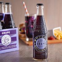 Boylan Bottling Co. 12 oz. Grape Soda 4-Pack - 6/Case
