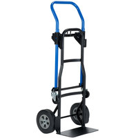 Harper JDCJ8523 3-in-1 500 lb. Quick Change Hand Truck with 8 inch Solid Rubber Wheels