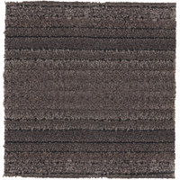 Cactus Mat 29-T Tire-Tex 1' x 1' Gray Carpet Tile - 3/8 inch Thick