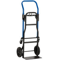 Harper JDC2223 3-in-1 400 lb. Quick Change Hand Truck with 8 inch PVC Tread Wheels