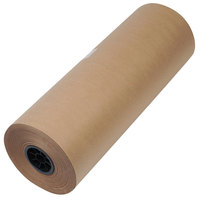 1300039 24 inch x 720' Brown 50# High Volume Wrapping Paper
