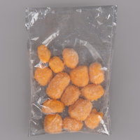 York Valley Cheese Company 5 oz. Bag Beer Battered Squeeky Cheese Curds - 35/Case