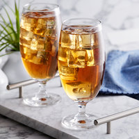 Acopa 15 oz. Stemmed Iced Tea Glass - 12/Case