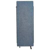 Luxor RCLM2466ZPB RECLAIM Pacific Blue 24 inch x 66 inch Room Divider Expansion Panel