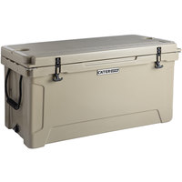 CaterGator CG100TAN Tan 100 Qt. Rotomolded Extreme Outdoor Cooler / Ice Chest