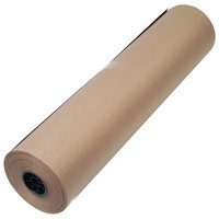 1300053 36 inch x 720' Brown 50# High Volume Wrapping Paper