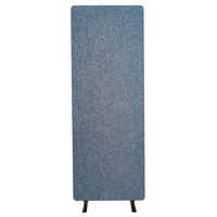 Luxor RCLM2466PB RECLAIM Pacific Blue 24 inch x 66 inch Room Divider