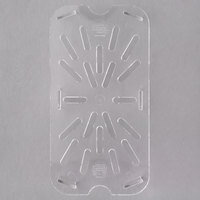 Carlisle 3069507 1/4 Size Polycarbonate Clear Drain Tray