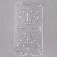 Carlisle 3069507 1/4 Size Polycarbonate Clear Drain Tray