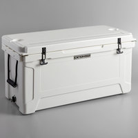 CaterGator CG100WH White 100 Qt. Rotomolded Extreme Outdoor Cooler / Ice Chest