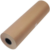 1300046 30 inch x 720' Brown 50# High Volume Wrapping Paper