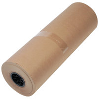 1300022 24 inch x 900' Brown 40# High Volume Wrapping Paper