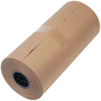 1300015 18 inch x 900' Brown 40# High Volume Wrapping Paper