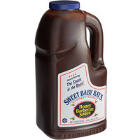 Sweet Baby Ray's 1 Gallon Honey Barbecue Sauce - 4/Case