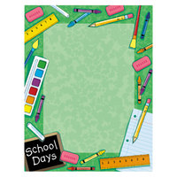 Geographics 46896S 8 1/2 inch x 11 inch School Themed Pack of 24# Design Suite Paper - 100/Sheets