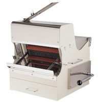 Countertop Electric Bread Slicer - 5/8 inch Cutting Width