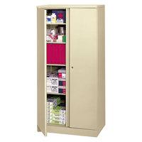 HON C187236L Basyx 36 inch x 18 inch x 72 inch Putty Storage Cabinet