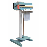 14 inch Foot Operated Impulse Bag Sealer with 5mm Seal Width - 110V