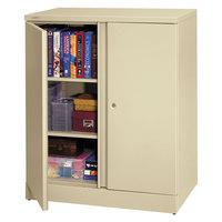 HON C184236L Basyx 36 inch x 18 inch x 42 3/4 inch Putty Storage Cabinet