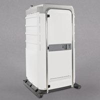 PolyJohn FS3-3008 Fleet White Premium Portable Restroom with Freshwater Flush Tank - Assembled