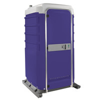 PolyJohn FS3-3010 Fleet Purple Premium Portable Restroom with Freshwater Flush Tank - Assembled