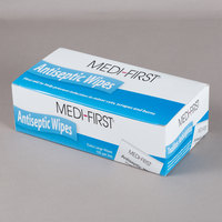 Medi-First 21433 Extra Large Antiseptic Wipes - 100/Box