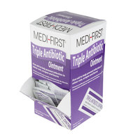 Medi-First 22335 0.5 g Antibiotic Cream Packet - 144/Box