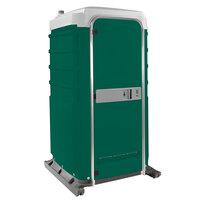 PolyJohn FS3-3003 Fleet Evergreen Premium Portable Restroom with Freshwater Flush Tank - Assembled