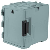 Cambro UPCS400401 Ultra Pan Carrier S-Series Slate Blue Front Loading Insulated Food Pan Carrier