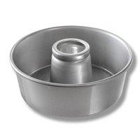 Chicago Metallic 46565 10 inch Glazed Aluminum Angel Food Cake Pan - 3 3/4 inch Deep