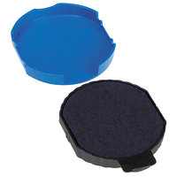 Identity Group USSP5415BL Trodat T5415 Blue Ink Dater Replacement Pad Refill