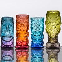 Tropical Tiki Glass Mixed Set   - 4/Case