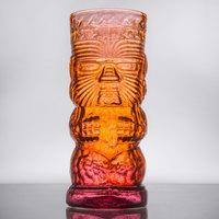 Warrior 16 oz. Lava Red Tiki Glass