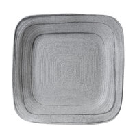 Elite Global Solutions D11PLST Della Terra Melamine Stoneware 11 inch Granite Stone Irregular Square Plate - 6/Case