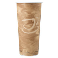 Dart Solo 424MSN-0029 24 oz. Mistique Single Sided Poly Paper Hot Cup   - 500/Case