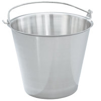 Vollrath 58200 23 Qt. Stainless Steel Tapered Dairy Pail