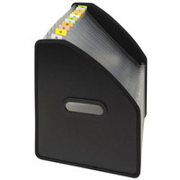 C-Line 58810 13-Pocket Black Letter Sized Vertical Standing Expanding File
