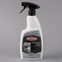 Weiman W108 22 oz. Trigger Spray Stainless Steel Cleaner & Polish - 6/Case